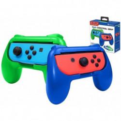 Pack de 2 grips Subsonic Colorz Vert et Bleu pour Switch