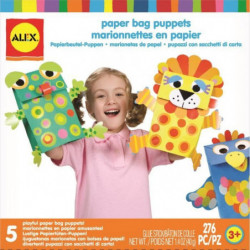 ALEX Marionnettes en papier - A partir de 3 ans