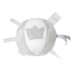 BAMBAM Balle avec grelot couronne 10,5 cm - Gris