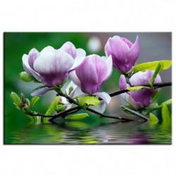 Tableau imprimé 80x50cm - Violet