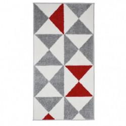 FORSA Tapis de couloir en polypropylene - 60 x 110 cm - Roug