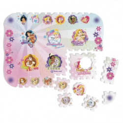 PRINCESS  - TAPIS PUZZLE MOUSSE DE 12 PIECES - TATAMIZ