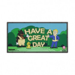 Tapis en caoutchouc Fallout 76 : Have a Great Day