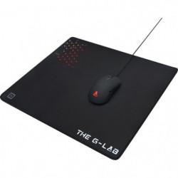 THE G-LAB Tapis de souris Gaming L 450x400x4mm avec gomme an