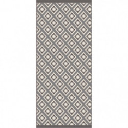 LOUXOR Tapis 100% vinyle - 49,5 x 115 cm - Epaisseur 1,5 mm