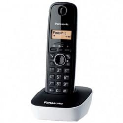 Panasonic KX-TG1611FRW Solo Téléphone Sans Fil Sans Répondeu