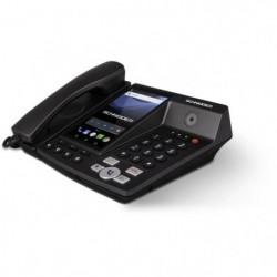 SCHNEIDER Téléphone fixe sans fil 4G LTE Noir