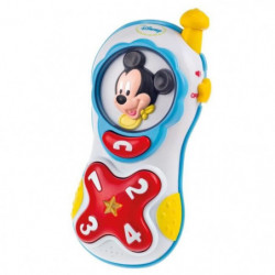 CLEMENTONI Disney Baby  - Téléphone Lumiere et Sons  Mickey