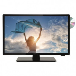 SEEVIEW Télévision LED HD + DVD DVB-T2 S2 - 24.5""