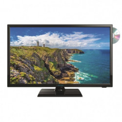 SEEVIEW Télévision LED HD + DVD  DVB-T2 S2 - 18.5""