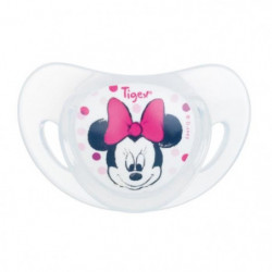 TIGEX  Minnie 2 Sucettes Physiologiques Silicone +6m