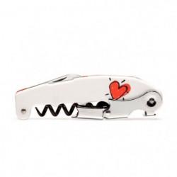 Kit smart fun et fun love - 1 tire-bouchon - 8 marque-verre