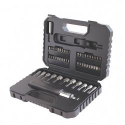 BLACK & DECKER Coffret d'outils de perçage et vissage 53 pie