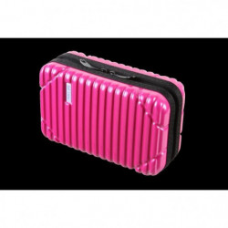 FRANCE BAG - Néccessaire de voyage ABS/POLYCARBONATE Fushia