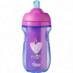 TOMMEE TIPPEE Explora Tasse a Paille Isotherme Fille 12m+