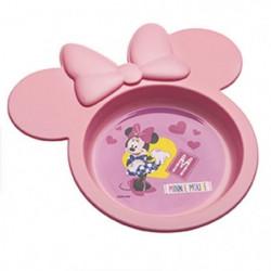 DISNEY Coffret repas 3 pieces Minnie Pink Girl - Assortiment
