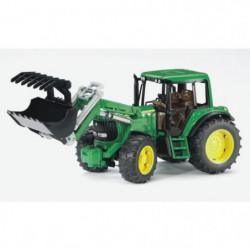 BRUDER - 2052 - Tracteur JOHN DEERE 6920 avec fourche - 38 c