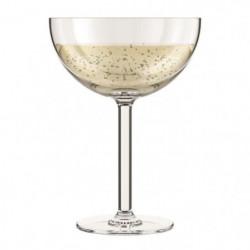 BODUM - OKTETT - 4 Coupes a Champagne en plastique - Incassa