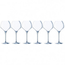 CHEF ET SOMMELIER Lot de 6 verres a vin OPEN'UP - 47 cl