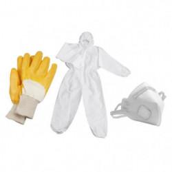 MEISTER Jeu de masque, gants et combinaison de travail