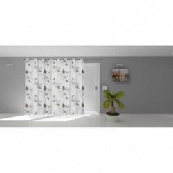 SOLEIL D'OCRE Voilage a oeillets Lucile - 280 x 250 cm - Bla