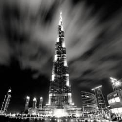 Affiche papier -  Burj Khalifa, Dubai  - Stawiarz  -  70x70cm