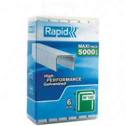 RAPID 5000 agrafe n°140 Rapid Agraf 10mm