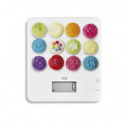 ADE Balance électrique KE 1721 - Décors Tiffany - 5kg / 1g