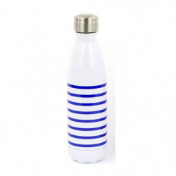 YOKO DESIGN Bouteille isotherme Mariniere - Bleu - 500 ml