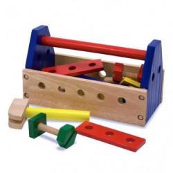 MELISSA & DOUG Trousse a Outils Portable - 24 Pieces - En bois