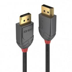 LINDY Câble DisplayPort 1.2 - Anthra Line - 5m