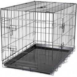 VADIGRAN Cage métallique pliable Classic - 91 x 61 x 66 cm
