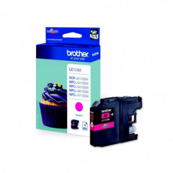 Brother LC123M Cartouche d'encre Magenta