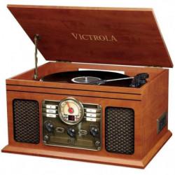 VICTROLA Classic Chaîne Stéréo 6-in-1 Platine Vinyle