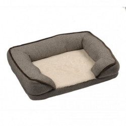 DUVO Sofa Snuggle - 90x70 cm - Brun - Pour chien