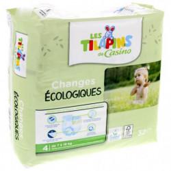 Les Tilapins couches écologiques T4x32 couches