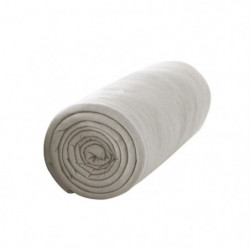 TODAY Drap housse 100% coton - 140 x 190 cm - Mastic