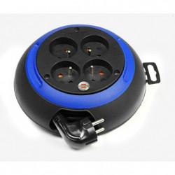 BRENNENSTUHL Enrouleur ménager 3 m Design-box CL-S noir/bleu