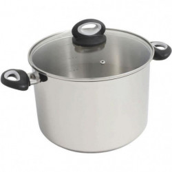 FINLANDEK Faitout induction en inox sans teflon - 24 cm