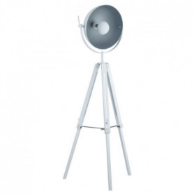 HOUSTON Pied lampadaire en bois 78,5xH170 cm E27