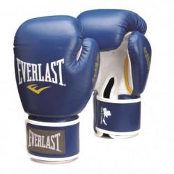 EVERLAST Gants de boxe Thai - Bleu - 16 Oz