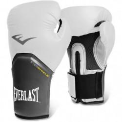 EVERLAST Gants de boxe Pro Style Elite - Mixte - Blanc - 8 Oz