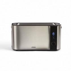 LIVOO  DOD155 Grille-pain électrique - Inox - Large fente