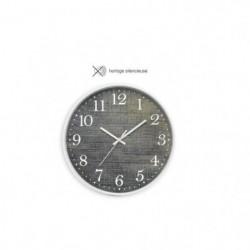CASITA Horloge effet matiere jean - Ø30 x 4,5 cm