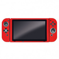 Housse de Protection rouge en silicone Steelplay pour Switch