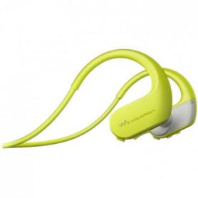 SONY - Walkman Sport, étanche, 4Go, Jaune
