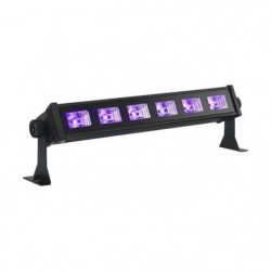 IBIL LED-UVBAR6 Barre à led uv 6 x 3w - Noir