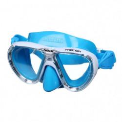 SEAC Masque de Plongée Procida Silter - Junior/Enfant - Bleu