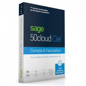 SAGE 50cloud FACTURATION - 1 an d'assistance