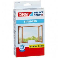 TESA Moustiquaire Standard pour fenetre - 1,3 m x 1,5 mm